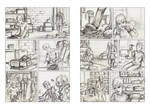 White Knuckle pages14-15 - pencils..