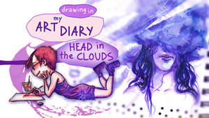 Head in Clouds timelapse illustration