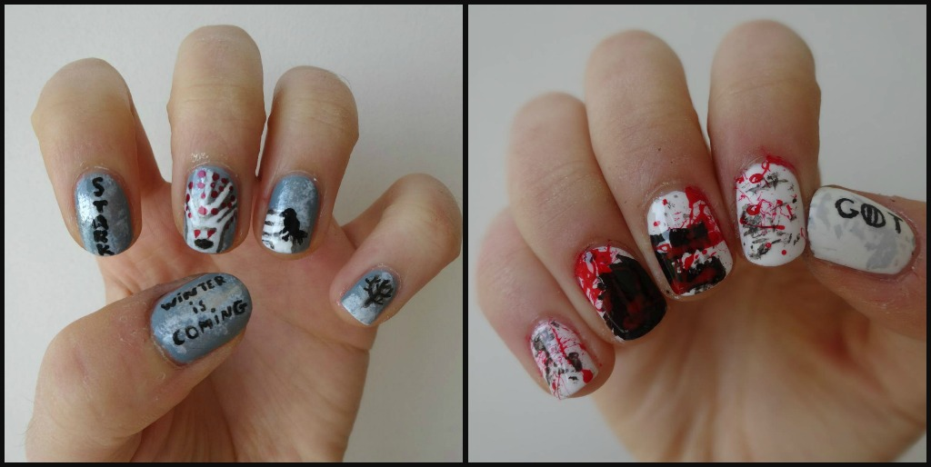 Game of Thrones inspired nails ! by Dreamylin on DeviantArt