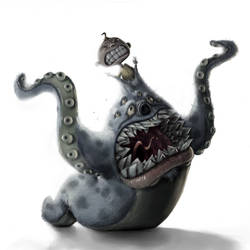 F U Monster by kylecbastian