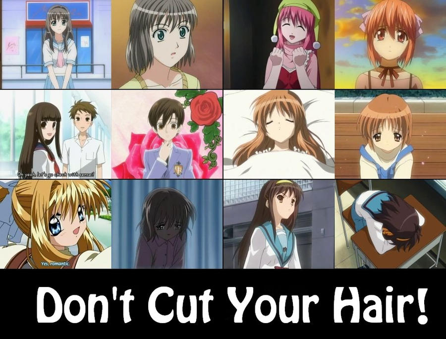 Don't Cut Your Hair! by KittyKat-A911