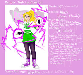 Reaper High Application