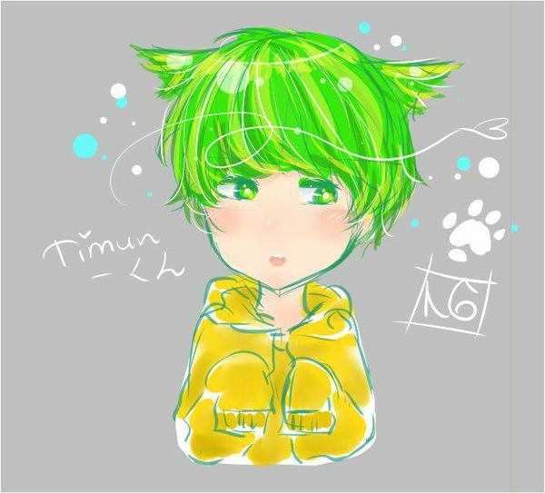 oggy the cucumber  by enji24