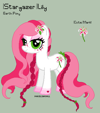 MLP - Stargazer Lily Reference Sheet by porcelian-doll
