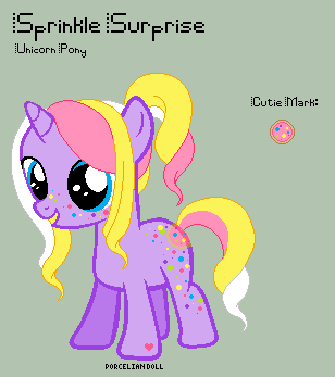 mlp sprinkle surprise reference sheet by