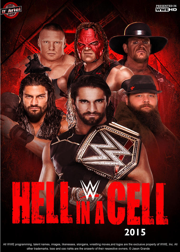 Hell in a cell 2015 poster by DVDShopAriel
