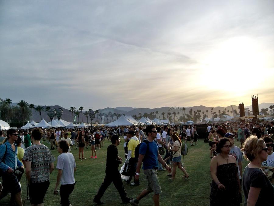 Coachella From Day to Night by HallieElizabeth
