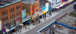 Toronto Tilt Shift by paconavarro