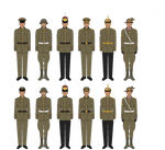 Confederal Army - Full Dress Uniforms