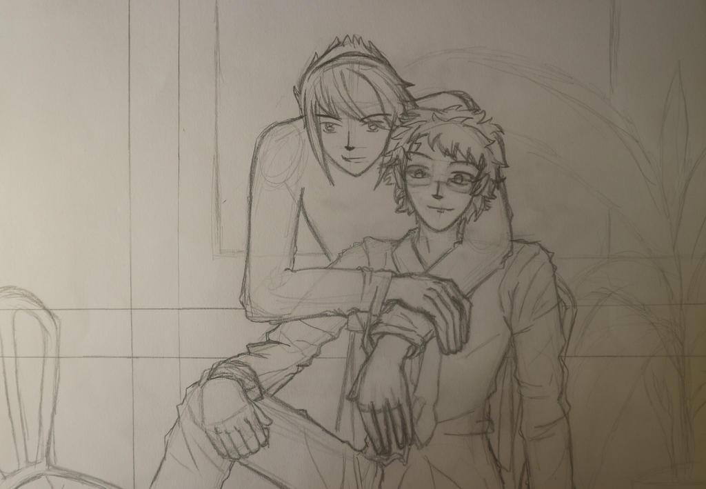 Harry + Draco by tomaniana