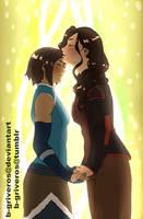 Kissing the gf by B-Griveros