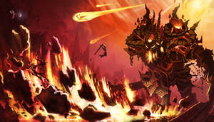 Ancient Fire Colossus
