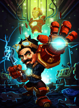 I AM iron gnome !