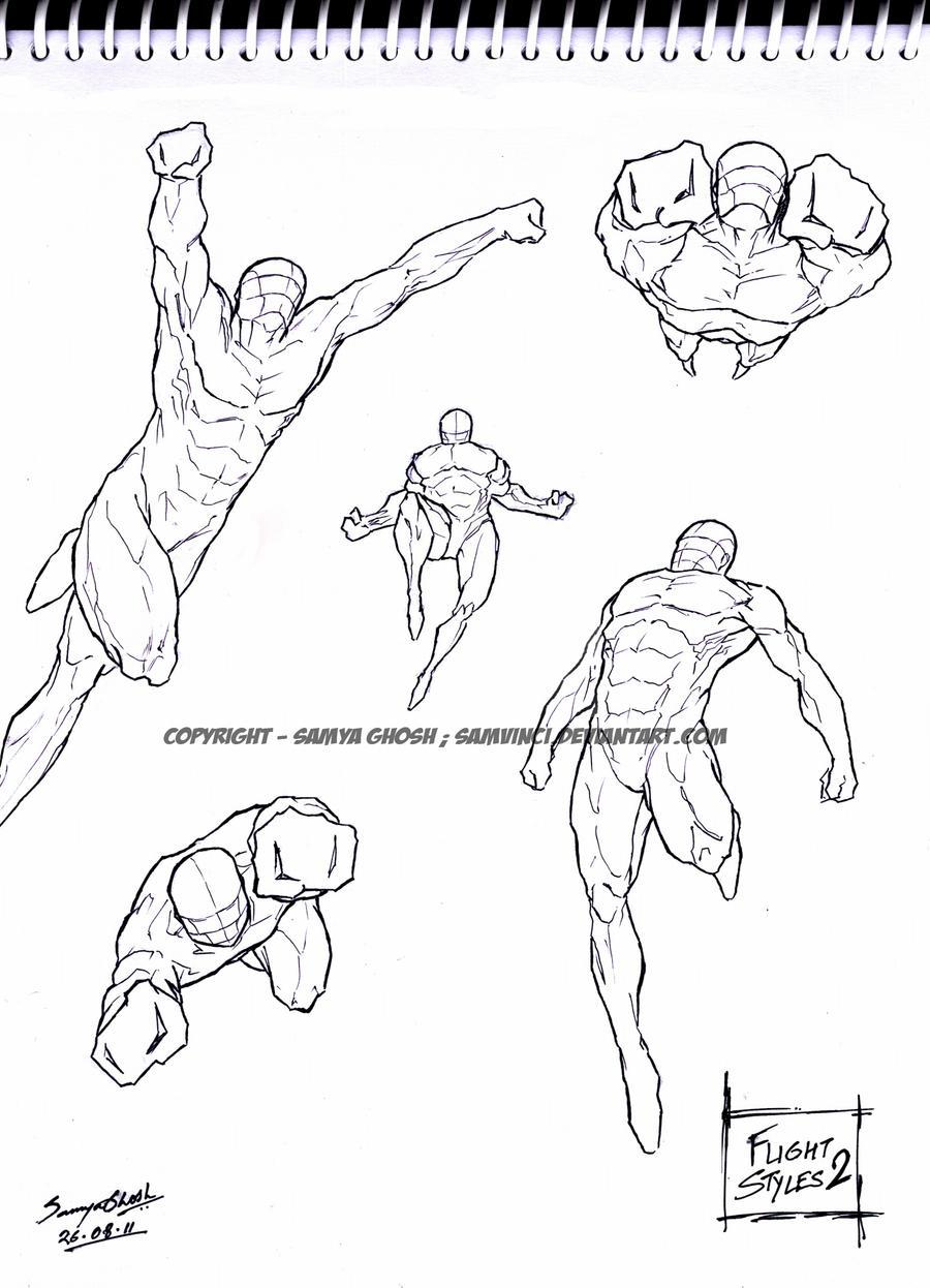 Quick Doodle - Flight styles 2 by Samvinci