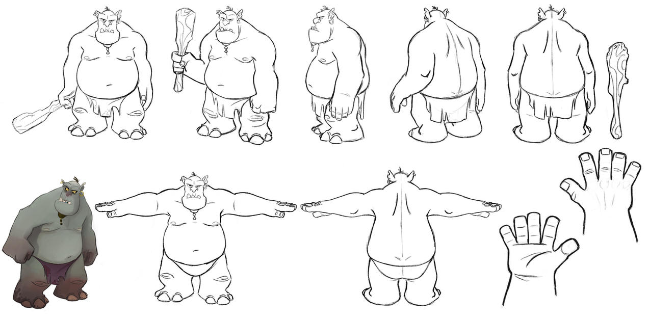Troll Turnaround by bmaras