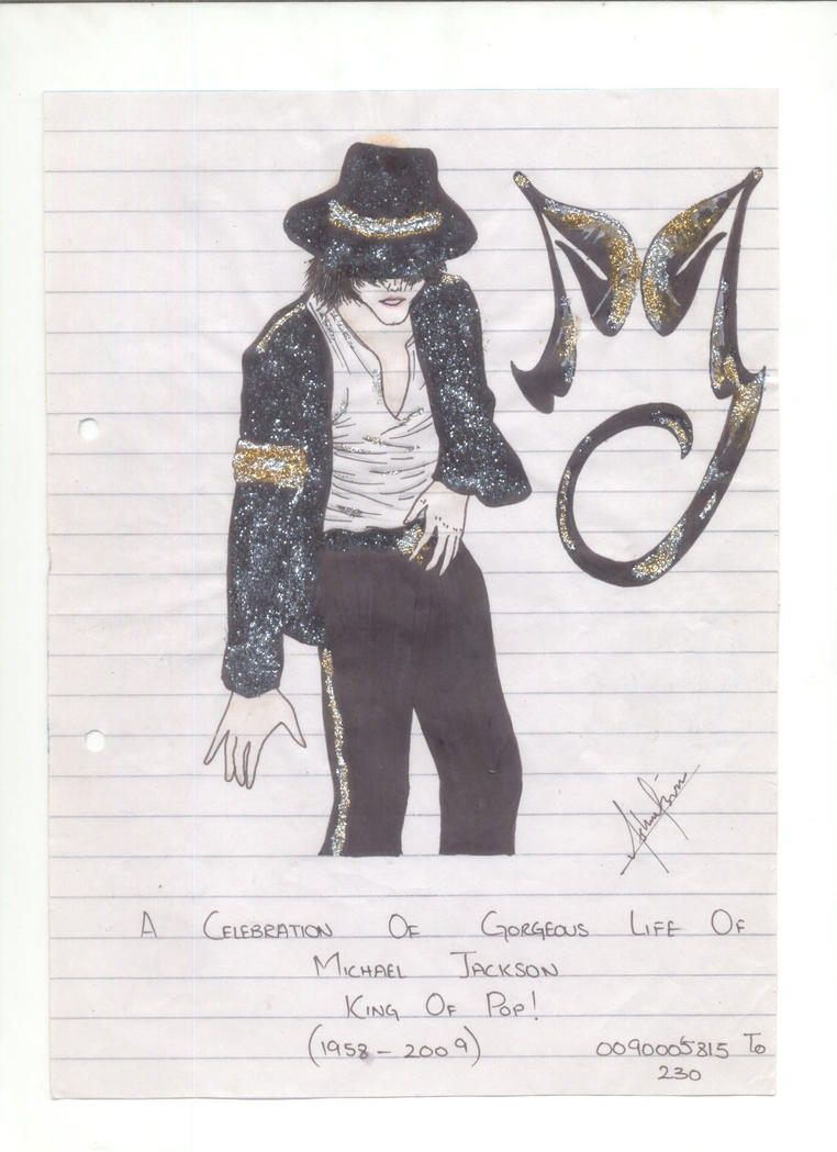 Michael Jackson Art by divadonna224