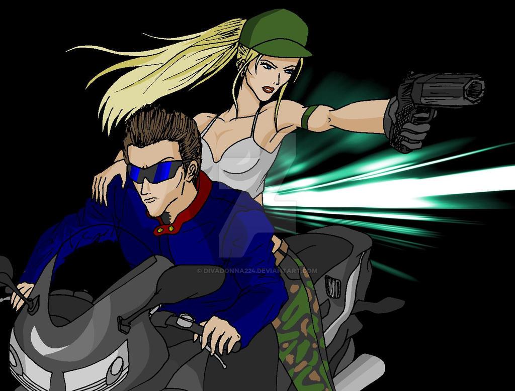 Johnny Cage X Sonya Blade by divadonna224