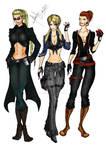 Gender Swap: Wesker,Leon,Jake