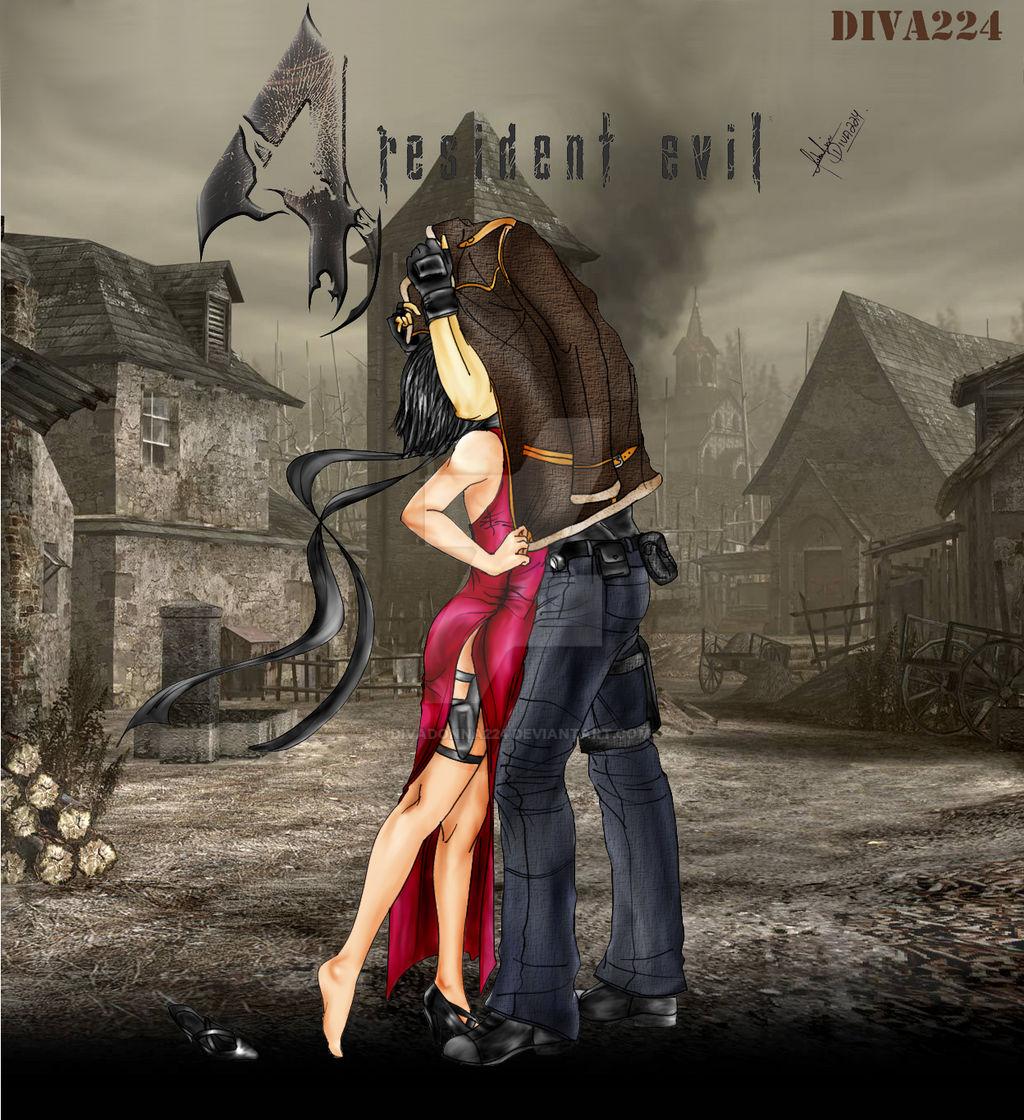 Ada and Leon by DanteTvirus on DeviantArt