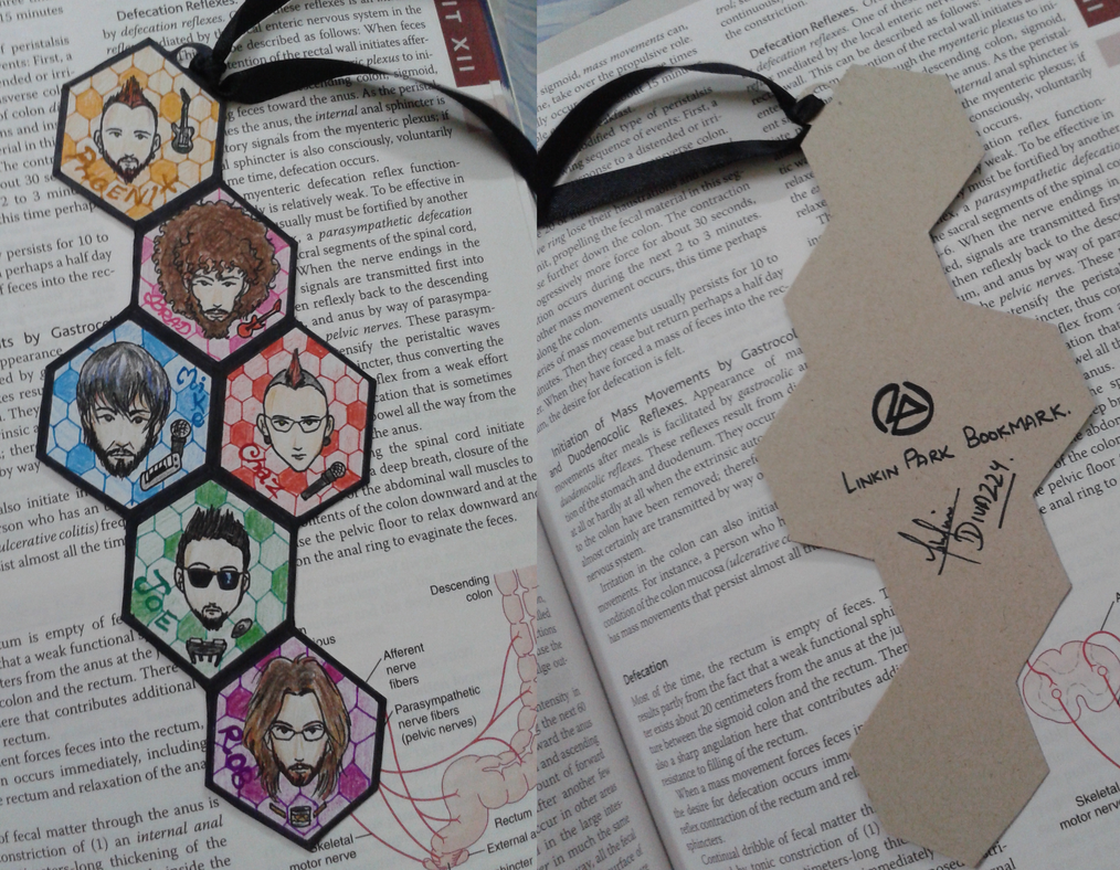 Linkin Park: Bookmark by divadonna224