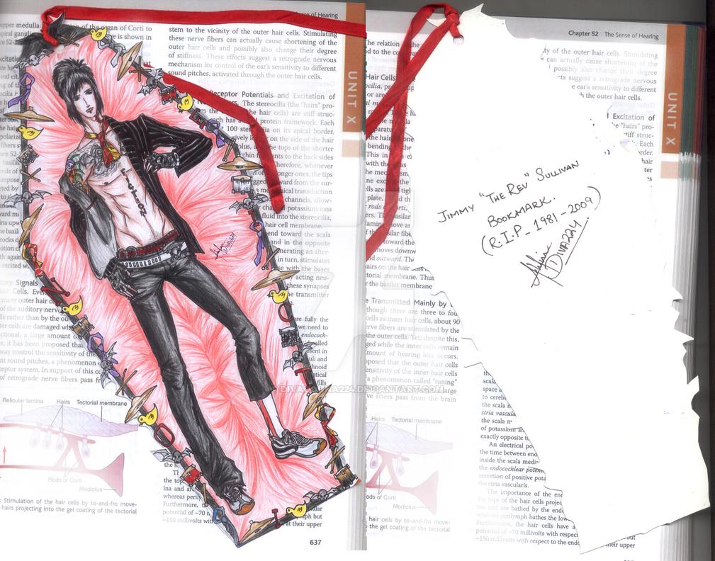 RIP Jimmy The REV Sullivan Bookmark 2 by divadonna224