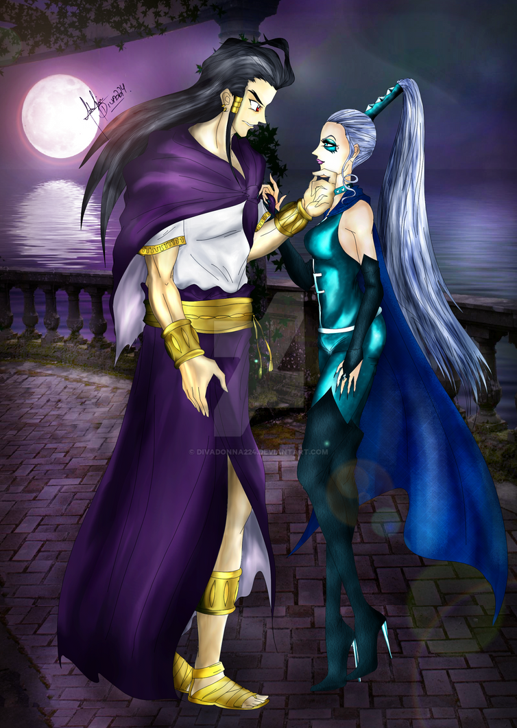 Icy and Rago by divadonna224