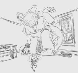 Magical Mishaps with a gooey Pokedragon by MattMacroPika