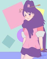 GS5: Mysterious Key Girl by ssophiaa
