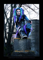 Blue Corrosion 4 by LadyDeathDemon