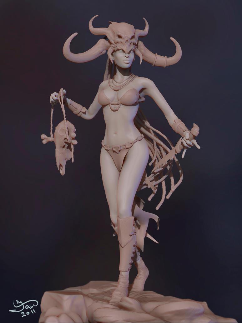 witchdoctor diablo 3 by Dozen13