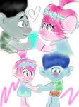 Poppy and Branch - DreamWorks Trolls