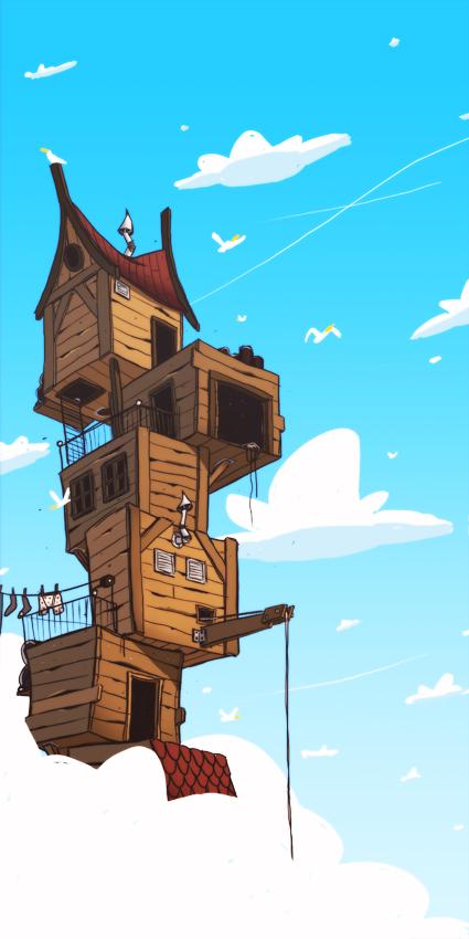sky housing by no26