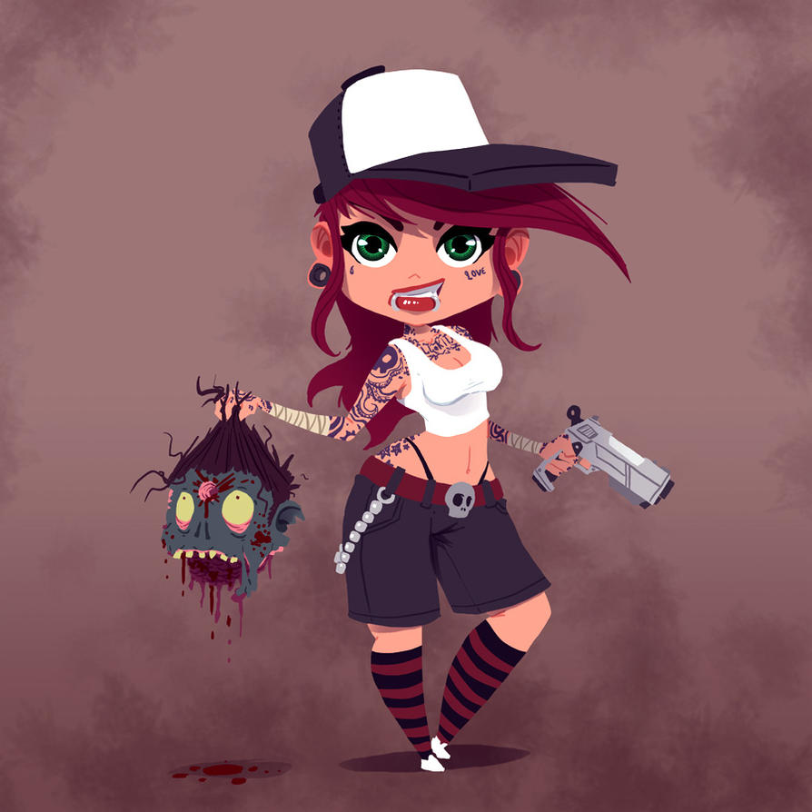 Zombiegirl by no26