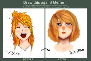 Draw this again - 5yrs by X-Fish-Bone-X