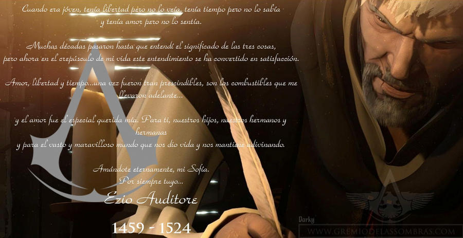 Assassin's Creed Embers - Last words for my love by ...