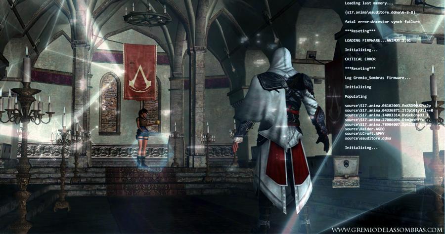 Assassin's Creed - Crossover: Lara Croft vs Ezio by ...