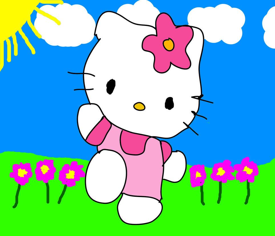 Hello Kitty by DefnoArt