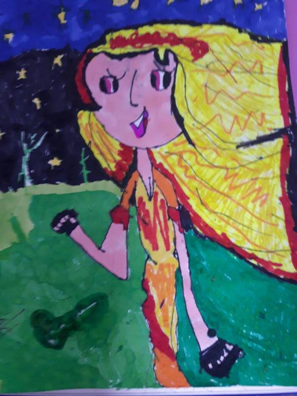 running girl by DefnoArt