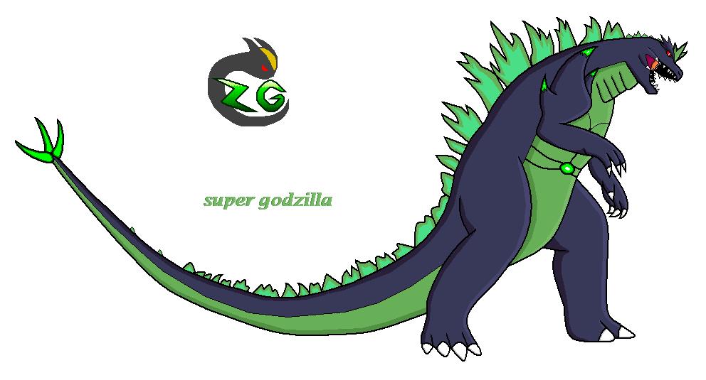 My Super Godzillalegendary Version By Zillagamer On