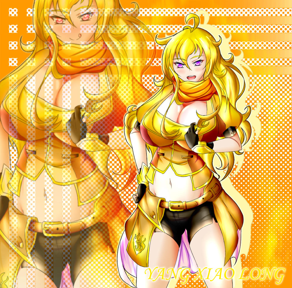 Yang Xiao Long Wallpaper: Yang Xiao Long By Ke-on On DeviantArt