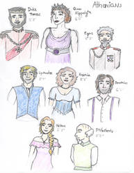 Athenians from Midsummer NIght's Dream