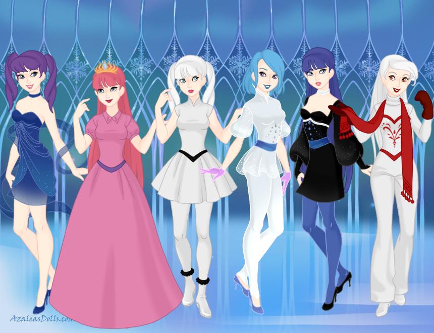 Frozen AU - T.O.M.'s Harem Girls by Minami-Kousaka