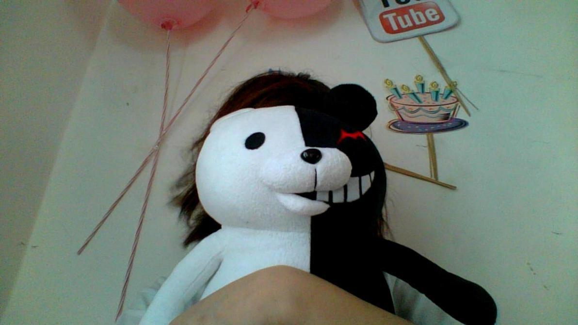 Me and Monobear by Minami-Kousaka