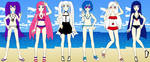 T.O.M's Summer Girls by Minami-Kousaka