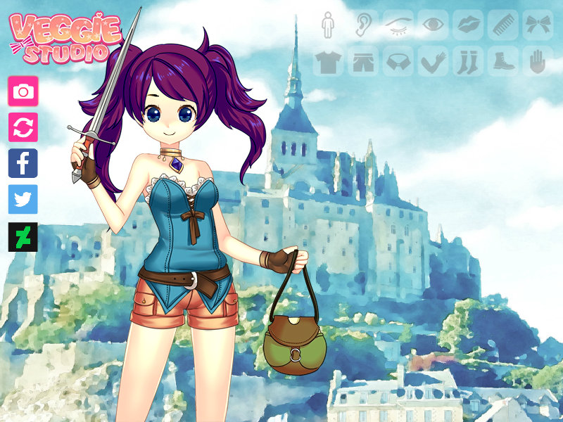Fantasy Girl AU - Minami Kousaka by Minami-Kousaka