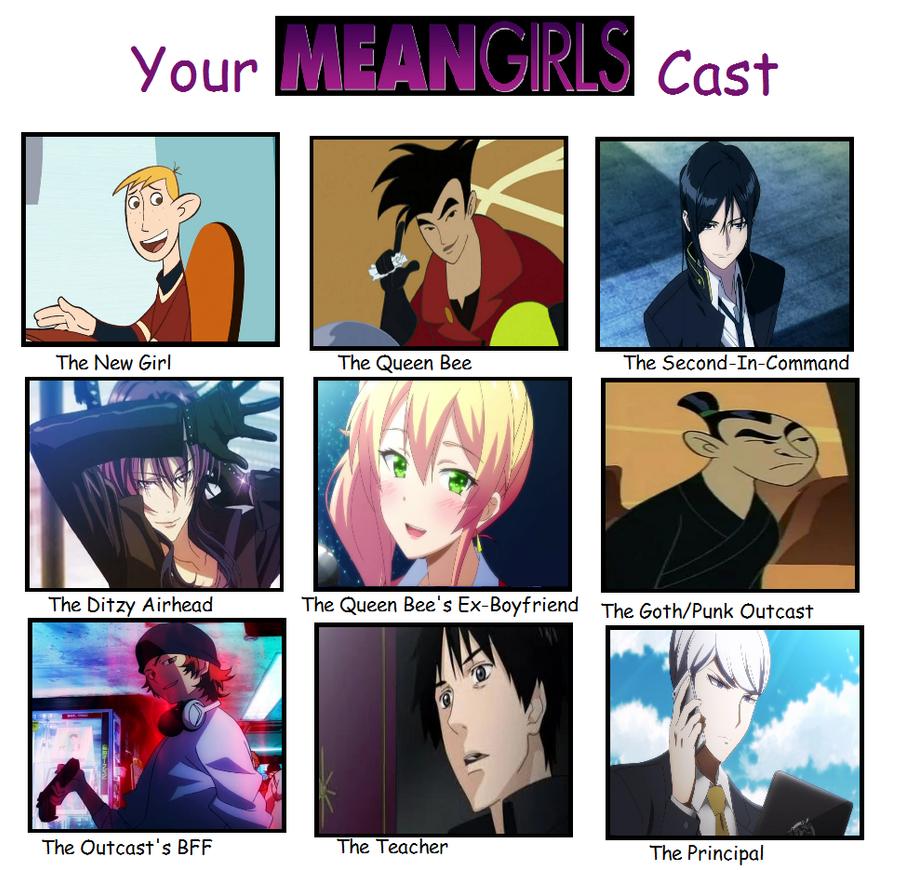 My Mean Girls Cast by Minami-Kousaka