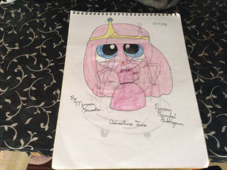 Pretty Pink Powerpuff Princess Bubblegum