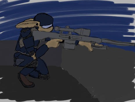 Rooftop Sniper