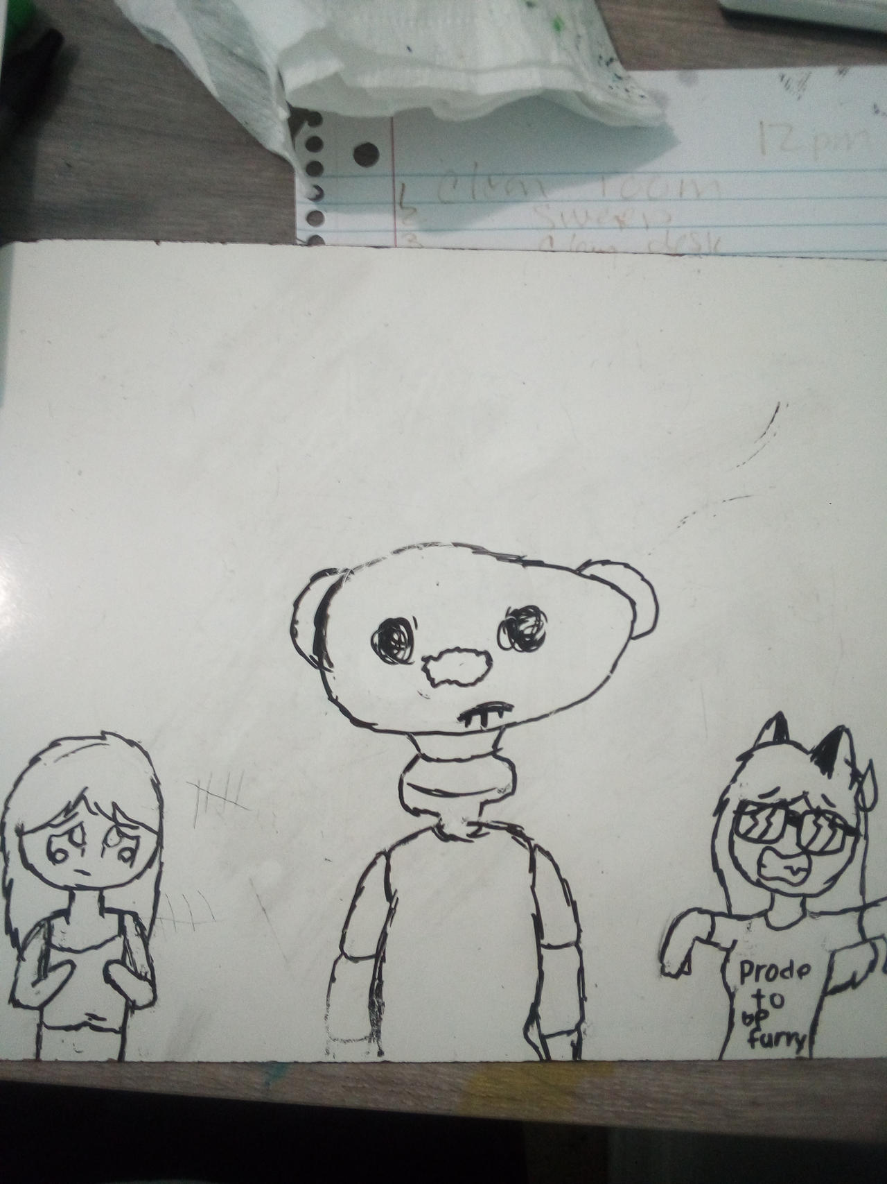 Roblox Tem A Fan Art Draw Of The Roblox Game Bear By Tem123456 On Deviantart