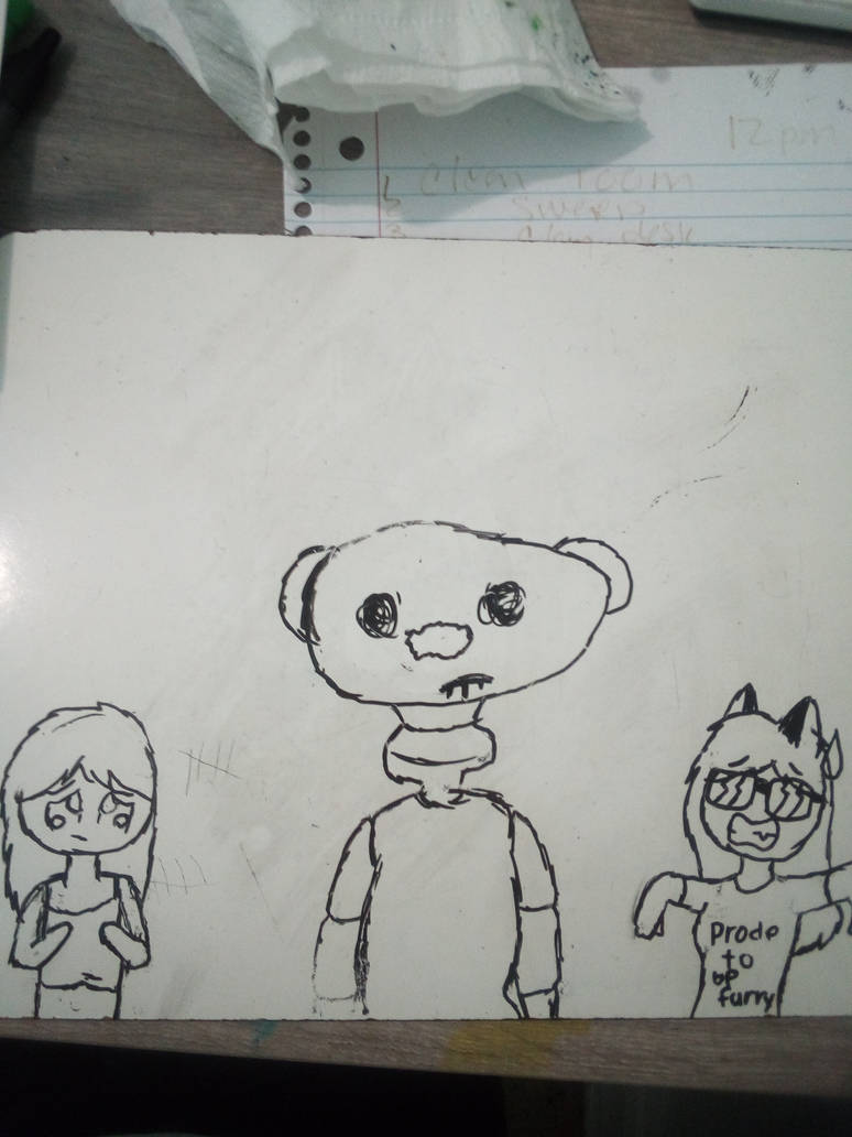 A Fan Art Draw Of The Roblox Game Bear By Tem123456 On Deviantart